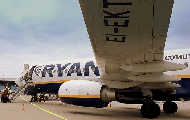 Фото: літак Ryanair (PxHere)