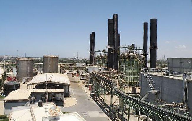 Фото: электростанция в секторе Газа (gisha.org.)