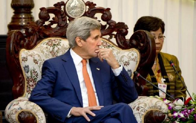 Фото: Госсекретарь США Джон Керри