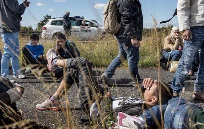 Фото: мигранты в Дании (Reuters)