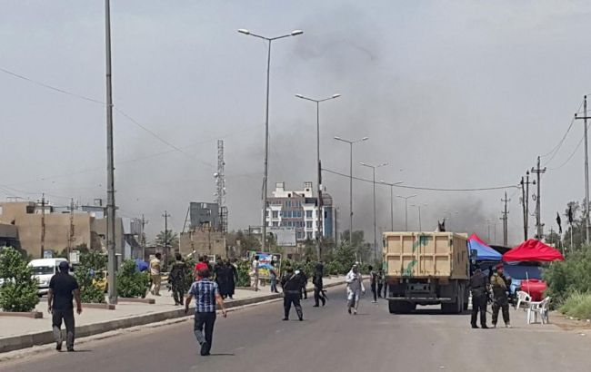 В Ираке произошла серия взрывов, есть жертвы