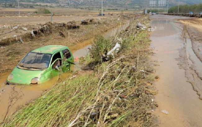 Фото: наводнение в Македонии