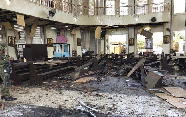 Количество жертв двух взрывов на Филиппинах возросло до 27