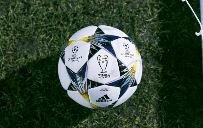 Представлен официальный мяч финала Лиги чемпионов-2018 в Киеве