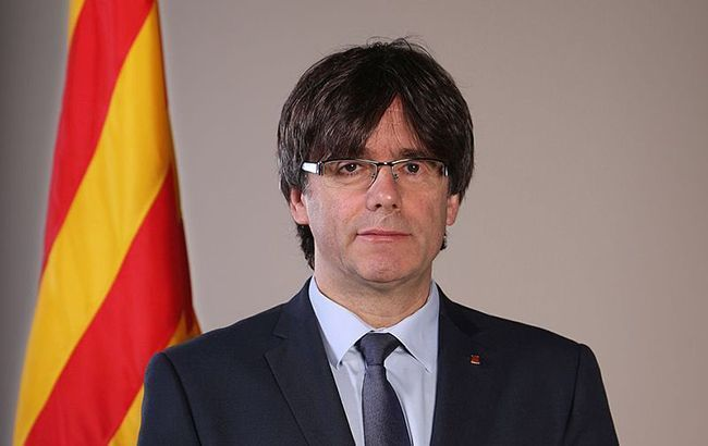 Колишній глава Каталонії добровільно здався владі Бельгії