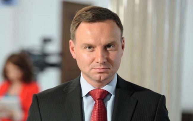 Дуда назвав головну умову припинення війни на Донбасі