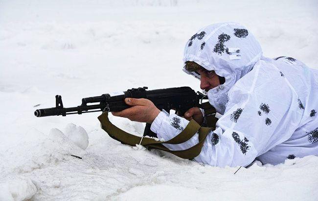 На Донбассе ранение получил один украинский военный