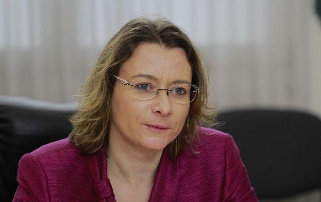 Фото: посол Франции в Украине Изабель Дюмон