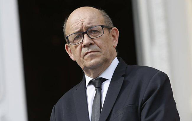 Фото: глава МИД Франции Жан-Ив Ле Дриан (diplomatie.gouv.fr)