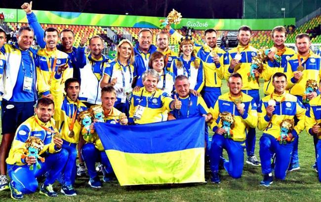 Фото: паралимпийская сборная Украины по футболу (facebook.com/sushkevych.valerii.mykhailovych)