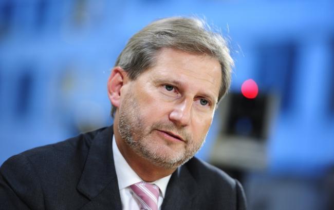 Єврокомісар Хан заявив про важливість створення антикорупційного суду в Україні