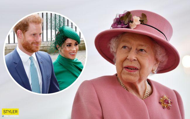 Елизавета II сделала важное обращение к принцу Гарри и беременной Меган Маркл