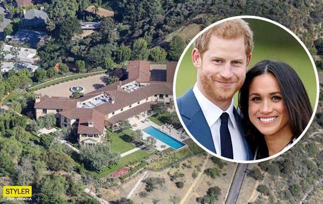 Розкішний особняк Меган Маркл і принца Гаррі в США показали на фото