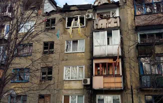 Фото: вибух газу в Донецькій області