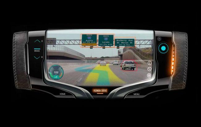 Дизайнеры General Motors показали руль будущего с дополненной реальностью