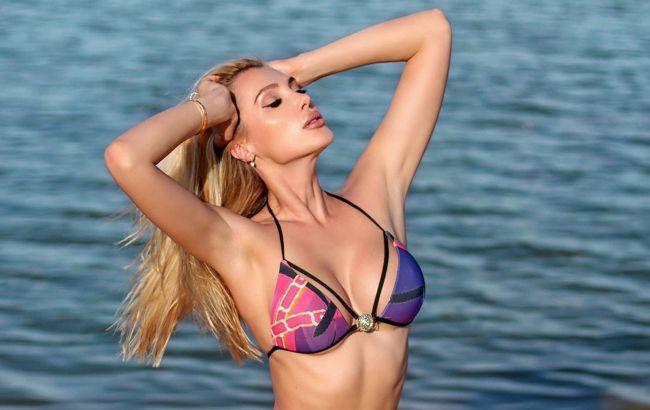 Украинская модель блеснула точеной фигурой на яхте в Дубае