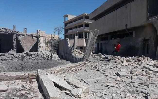 Фото: в Алеппо зруйнований ще один госпіталь