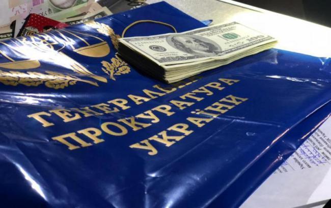 НАБУ повідомило про підозру затриманому на хабарі прокурору ГПУ