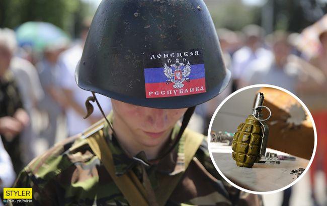 """Боевик """"ДНР"""" во время попойки взорвал друзей гранатой. Подобные ЧП - уже традиция"""