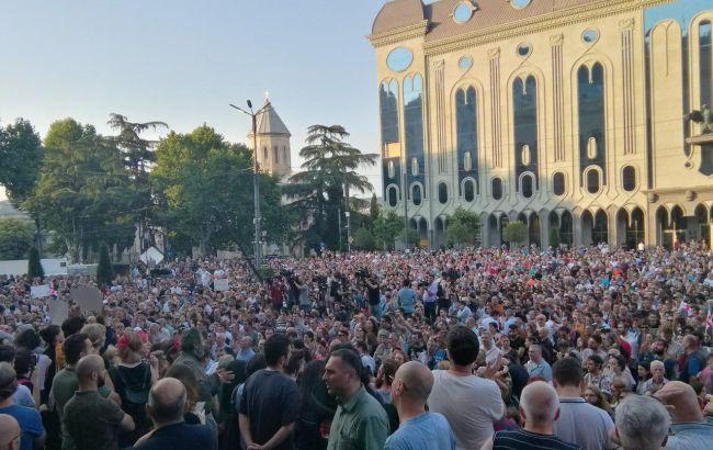 В Грузии протестующие выдвинули ультиматум властям