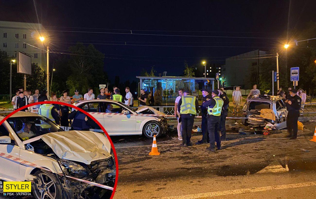 В Харькове пьяный экс-чиновник устроил ДТП со скандалом - видео ...