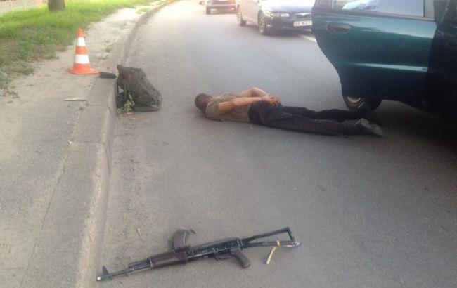 Задержанный в Харькове военнослужащий