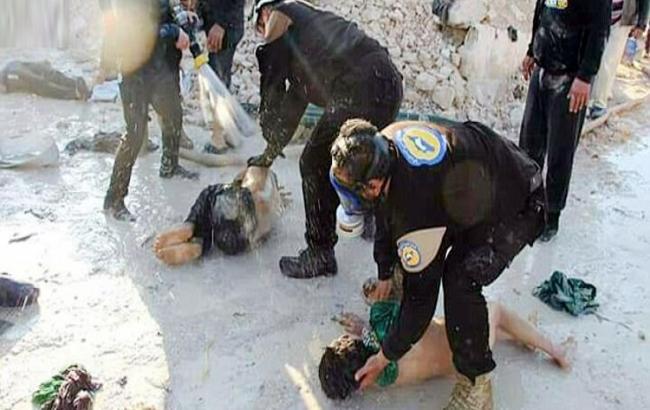 Фото: Россия выдвинула версию газовой атаки в Сирии