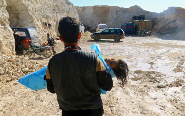 Фото: США подозревают Башара Асада в газовой атаке в Сирии