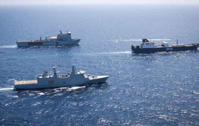 Фото: кораблі з останніми матеріалами для хімзброї з Лівії