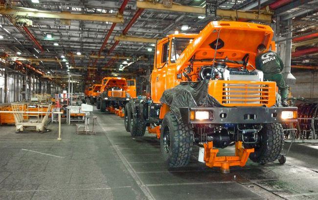 КрАЗ хочет выпускать электрические грузовики