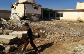 Головний храм какаі на півночі Іраку був підірваний джихадистами (фото Юрій Мацарський)