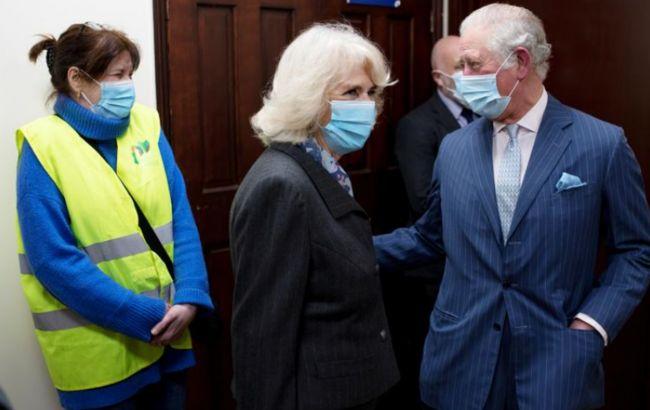 Жена принца Чарльза заявила, что ей делали прививку вакциной AstraZeneca