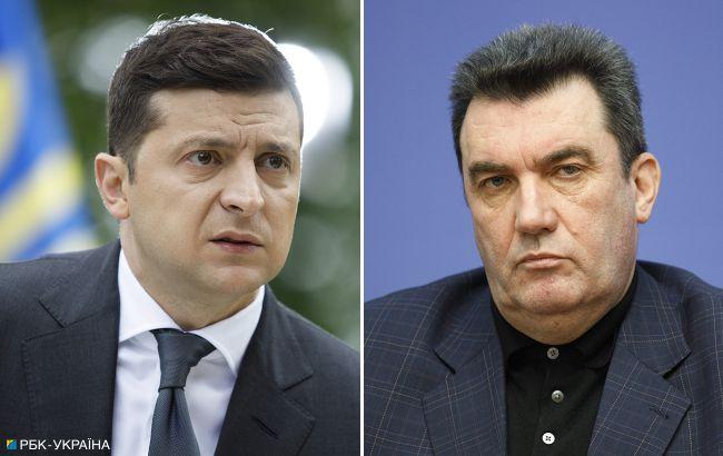 Зеленский встретился с секретарем СНБО: о чем говорили