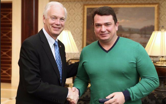 Ситник провів зустріч з сенатором США Джонсоном