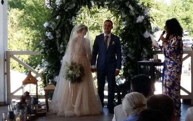 Свадьба пары (пресс-служба СТБ)