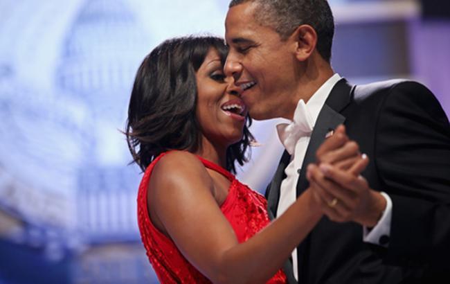Фото: Барак и Мишель Обама