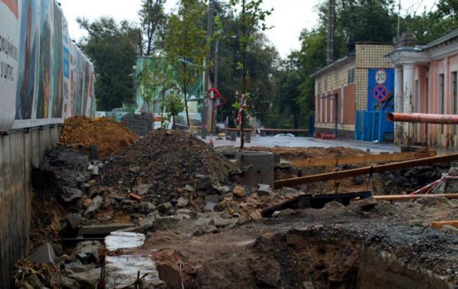 Строительство элитной высотки вызвало оползень на пляже в Одессе