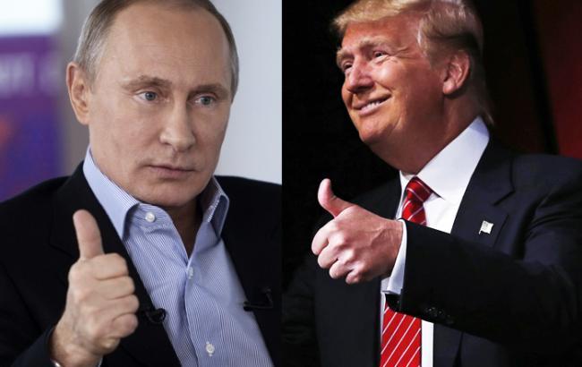 Фото: Владимир Путин утверждает, что Дональд Трамп стремится к нормализации российско-американских отношений