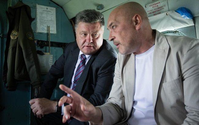 Фото: Петро Порошенко і Георгій Тука