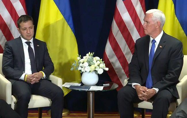 Пенс: США продолжат поддерживать Украину по вопросам безопасности