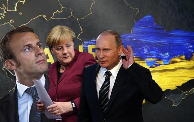 Макрон и Меркель призвали РФ оказать давление на Сирию по Восточной Гуте