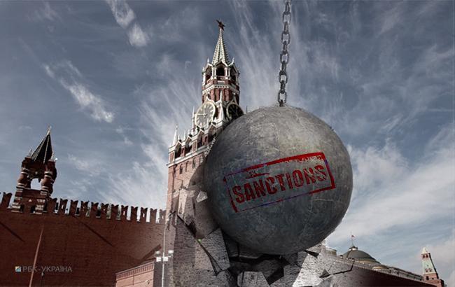 Санкции против РФ (коллаж РБК-Украина)