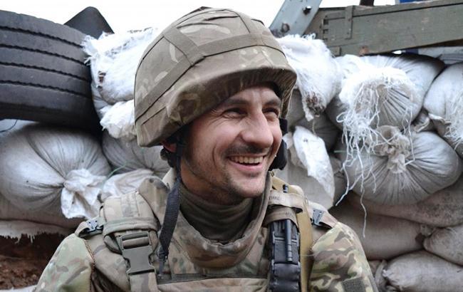 Фото: Украинский боец (Агеев Андрей / УНИАН)