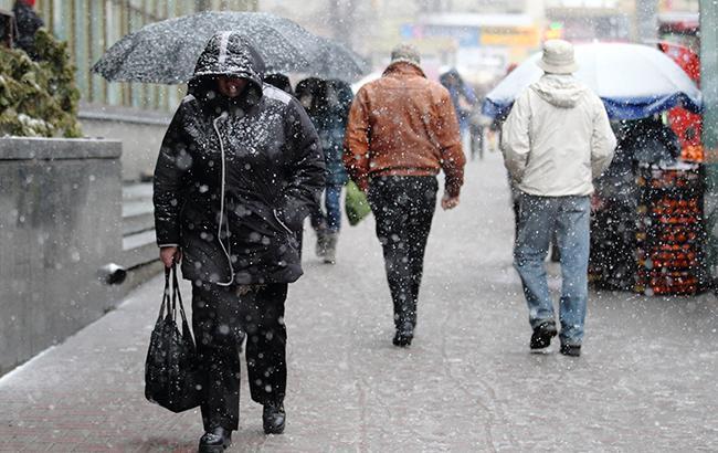 Фото: ухудшение погоды (РБК-Украина)
