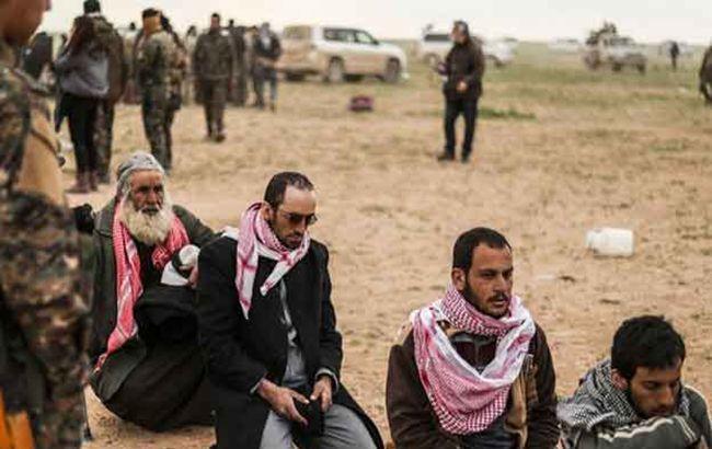 В Сирии освободили из плена почти 300 боевиков ИГИЛ