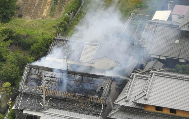 Фото: землетрясение (Kyodo)