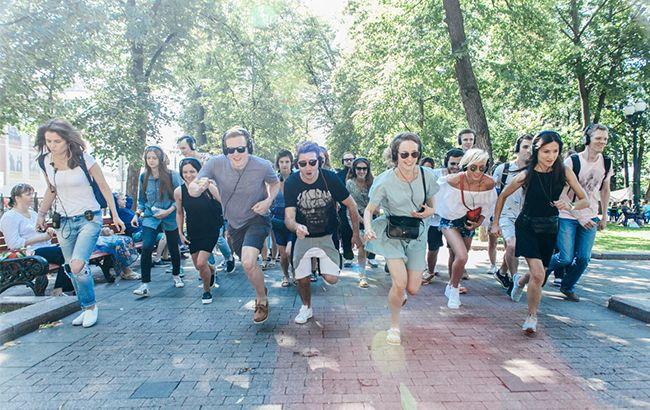 Київ - замість сцени (фото: прес-служба)