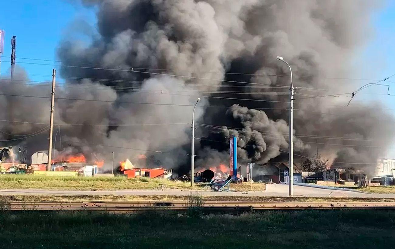 Взрыв АЗС в России: число пострадавших выросло вдвое