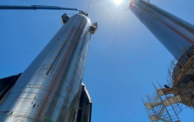 SpaceX збирається встановити Starship на Super Heavy
