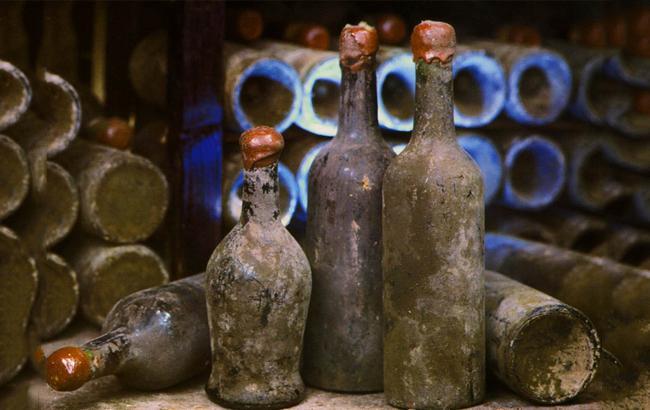 Фото: Бутылка вина